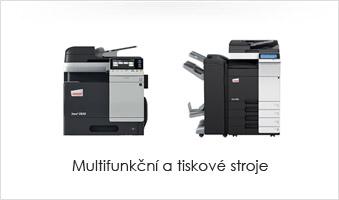 Multifunkční a tiskové stroje