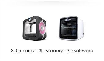 3d tiskárny a 3d skenery
